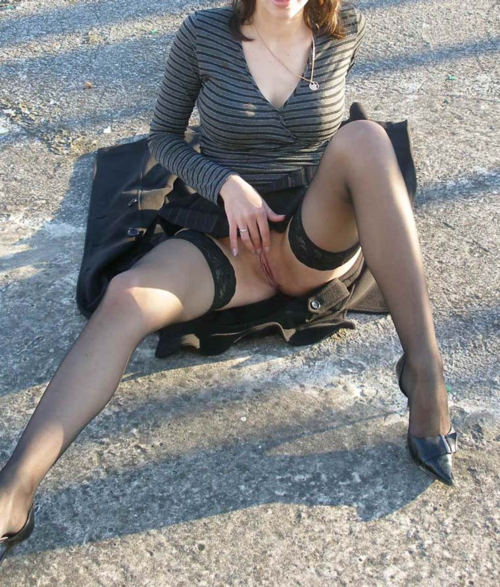 Tie her upskirt pcs exposed Said! Woman